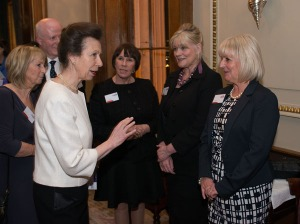 HRH Princess Royal visit to Cavell Nurses' Trust award cermony