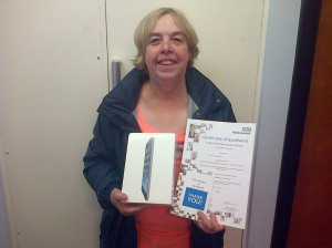 Kay Edwards - July winner